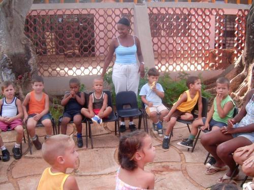 Escuela Infantil en Cuba