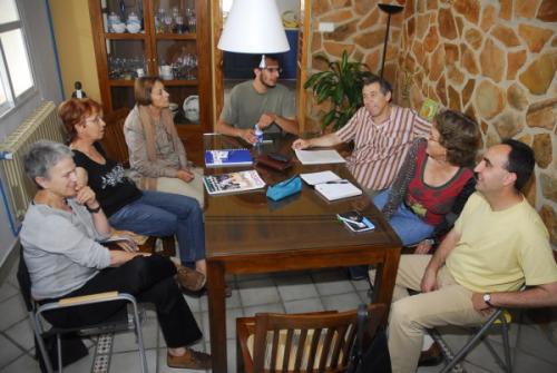 Reunión del grupo de didáctica La Illeta